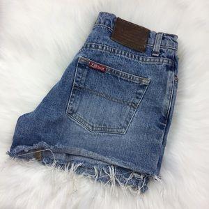Ralph Lauren Denim Cut off Jean Shorts Size 6